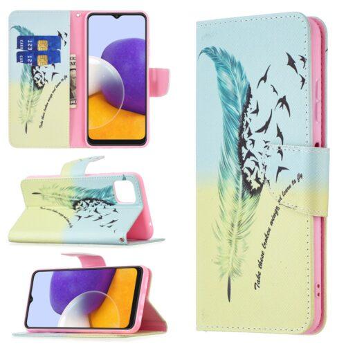 Калъф / book type / Samsung Galaxy A22 5G - перо