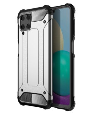 Удароустойчив гръб Armor Samsung Galaxy A22 4G - сив