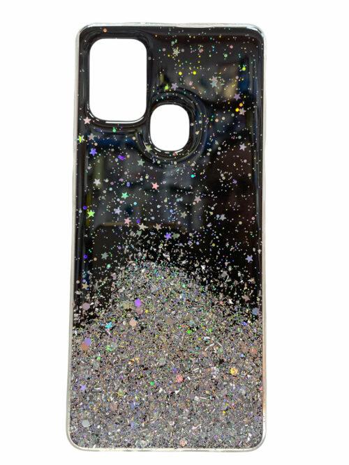 Силиконов гръб Brilliant Samsung Galaxy A21S - черен