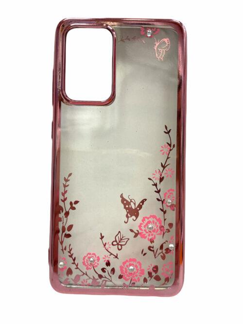 Силиконов гръб Circonia Samsung Galaxy A52 / A52 5G - rose-gold