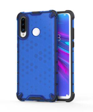 Удароустойчив гръб Honeycomb Huawei P30 Lite - син