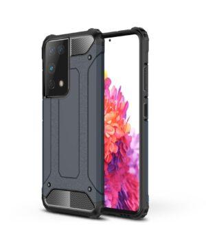 Удароустойчив гръб Armor Samsung Galaxy S21 Ultra - син