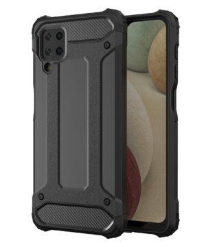Удароустойчив гръб Armor Samsung Galaxy A12 - черен