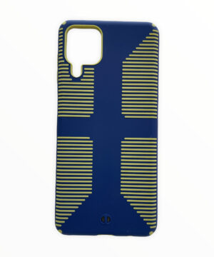 Удароустойчив гръб Grip Case Samsung Galaxy A12 - син