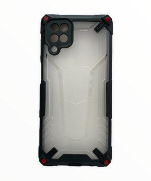 Хибриден калъф гръб кейс Hybrid Case Samsung Galaxy A12 - черен