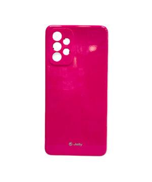Силиконов калъф гръб кейс Jelly Case Samsung Galaxy A72 / A72 5G - розов