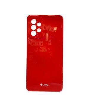 Силиконов калъф гръб кейс Jelly Case Samsung Galaxy A72 / A72 5G - червен