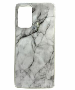 Силиконов гръб Samsung Galaxy A72 / A72 5G - бял мрамор
