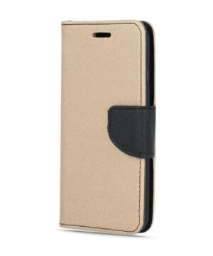 Калъф тефтер / Fancy book / Huawei P40 Lite - златен