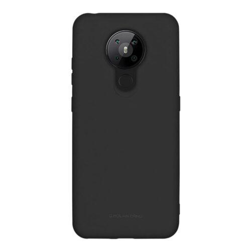 Силиконов гръб Molan Cano Nokia 5.3 - черен