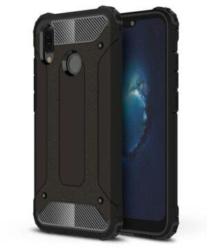 Удароустойчив гръб Armor Huawei P20 Lite - черен