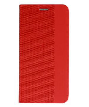 Калъф / Sensitive book / Huawei P40 Lite - червен