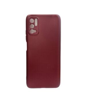 Силиконов калъф гръб кейс Uni Case Xiaomi Redmi Note 10 5G / Poco M3 Pro - бордо