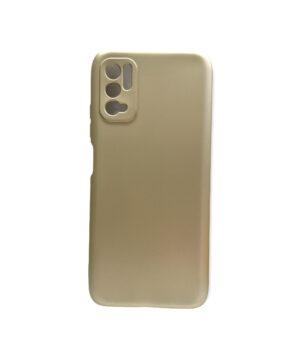 Силиконов калъф гръб кейс Uni Case Xiaomi Redmi Note 10 5G / Poco M3 Pro - златен