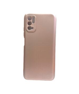Силиконов калъф гръб кейс Uni Case Xiaomi Redmi Note 10 5G / Poco M3 Pro - rose-gold