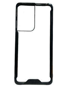 Удароустойчив гръб Acrylic Case Samsung Galaxy S21 Ultra - черен