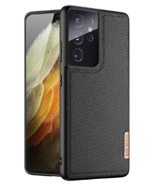 Силиконов гръб Dux Ducis Fino Case Samsung Galaxy S21 Ultra - черен