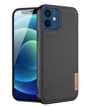 Силиконов калъф гръб Dux Ducis Fino Case iPhone 12 Mini - черен