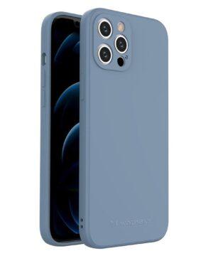 Силиконов калъф гръб Wozinsky Color Case iPhone 12 Pro Max - син