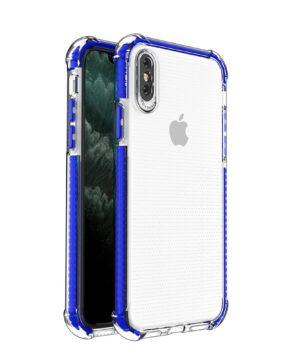 Силиконов гръб Spring Armor iPhone X / XS - син
