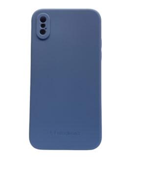 Силиконов калъф гръб Wozinsky Color Case iPhone X / XS - син