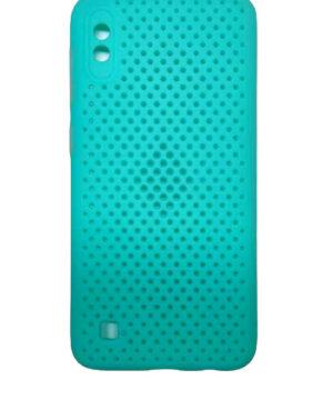 Силиконов калъф гръб Breath Case Samsung Galaxy A10 - мента