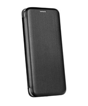 Кожен калъф тефтер / Elegance book / Samsung Galaxy A22 4G - черен