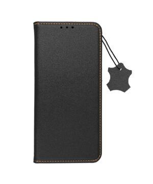 Кожен калъф тефтер / Smart pro book / Samsung Galaxy A22 4G - черен