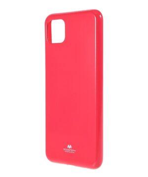 Силиконов калъф гръб Jelly Mercury Samsung Galaxy A22 5G - розов