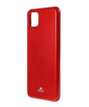 Силиконов калъф гръб Jelly Mercury Samsung Galaxy A22 5G - червен