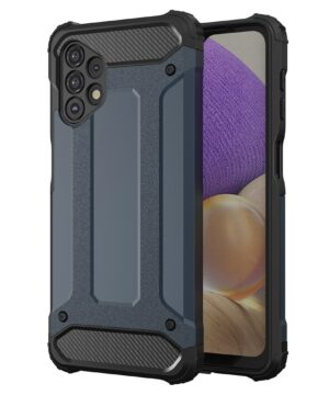 Хибриден калъф гръб Armor Case Samsung Galaxy A32 4G - син