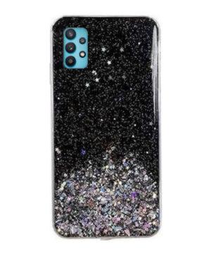 Силиконов калъф гръб Brilliant Case Samsung Galaxy A32 4G - черен