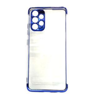 Силиконов калъф гръб Electro Case Samsung Galaxy A32 4G - син
