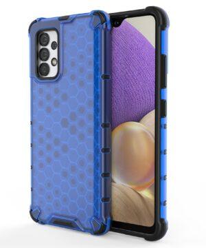 Хибриден калъф гръб Honeycomb Case Samsung Galaxy A32 4G - син