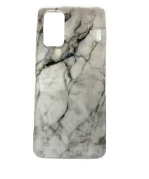 Силиконов калъф гръб Samsung Galaxy A32 4G - бял мрамор