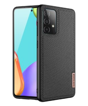 Силиконов калъф гръб Dux Ducis Fino Case Samsung Galaxy A72 / A72 5G - черен
