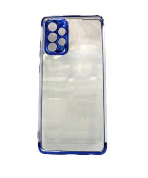 Силиконов калъф гръб Electro Case Samsung Galaxy A72 / A72 5G - син