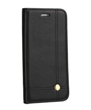 Кожен калъф тефтер / Prestige book / Samsung Galaxy S20 FE - черен