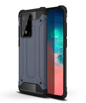 Хибриден калъф гръб Armor Case Samsung Galaxy S20 Ultra - син
