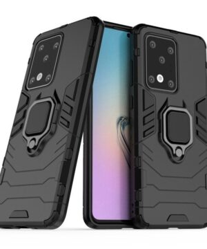 Хибриден калъф гръб Ring Armor Samsung Galaxy S20 Ultra - черен