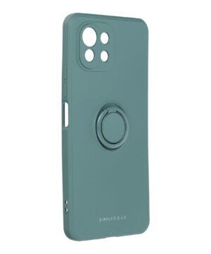 Силиконов калъф гръб Roar Amber Case Xiaomi Mi 11 Lite - зелен