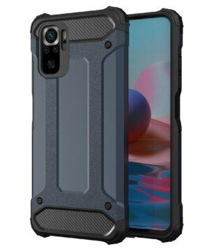 Удароустойчив гръб Armor Case Xiaomi Redmi Note 10 - син